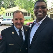 Chief DeMint and Malcolm Scott