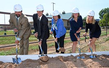 Johnson Family Equine Hospital Groundbreaking